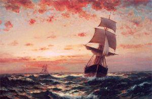 Moran_Ships_at_Sea